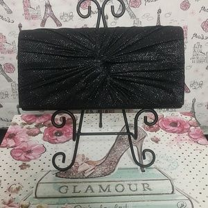 d'margeaux Bags - d'margeaux Black Clutch Evening Bag